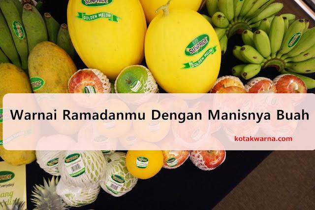 ramadan, sunpride, buah