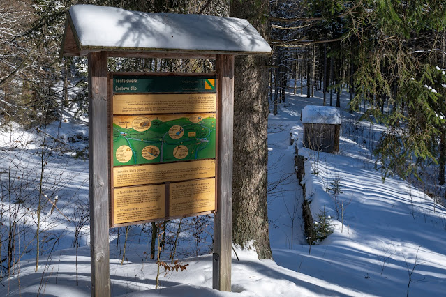 Winterwandern Mauth-Finsterau  Reschbachklause – Siebensteinkopf  Nationalpark Bayerischer Wald 23