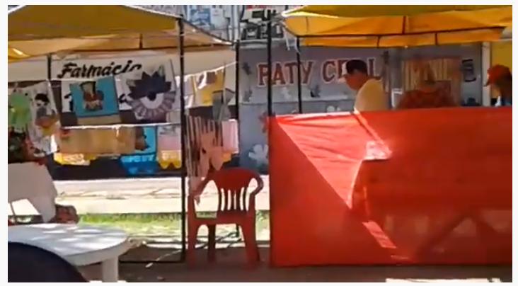 Feira que deu prêmio do Sebrae a prefeito é relegada ao abandono; vídeo