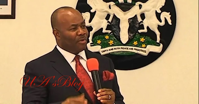 Akpabio: God will soon expose those who rigged me out of senate