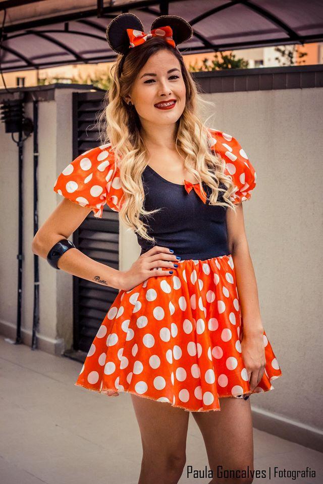 Fantasia de Minnie - Ally Arruda -Festa Blogueiras de Curitiba