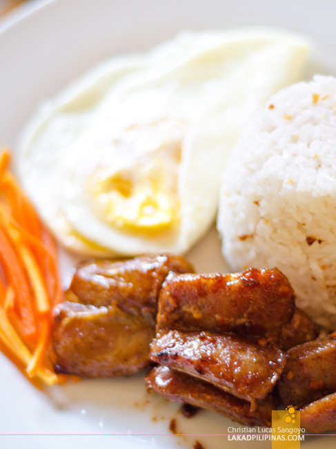White House Boracay Cafe Juan Breakfast