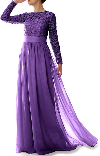 Fashionable Purple Mother of The Groom Dresses