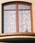 Drzwi balkonowe łuk