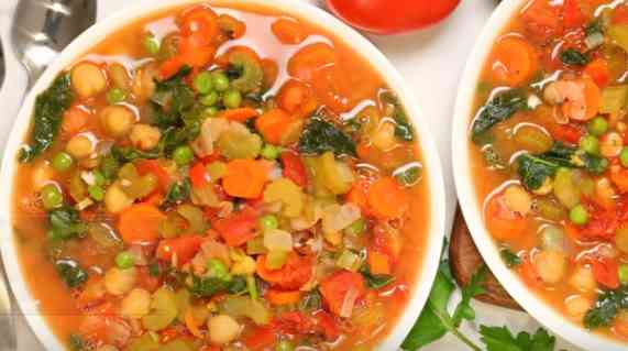 How to make soup from vegetables
