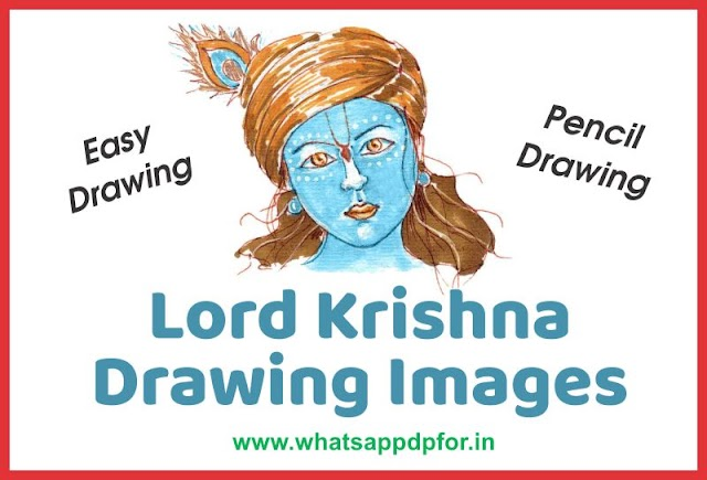 Krishna Drawing Images | Krishna Images for Drawing