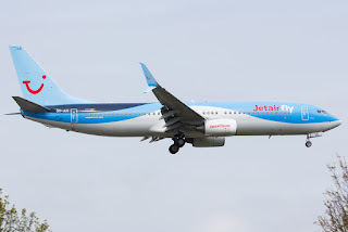 TUI Airlines Belgium / Jetairfly Boeing 737-800