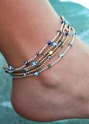 pearl anklet in Iran
