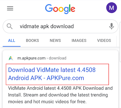 vidmate download website