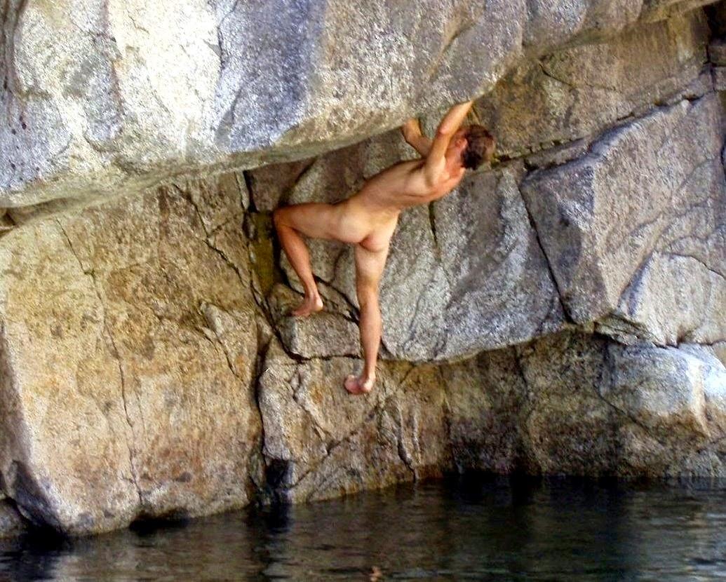 Nude climbing pic, nude shower scene carrie