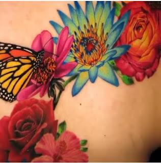 cardi latest tattoo