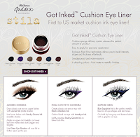 Stila GOT INKED cushion eye liner liquid pot makeup tutorial cateye cleopatra work appropriate eyebrows gel
