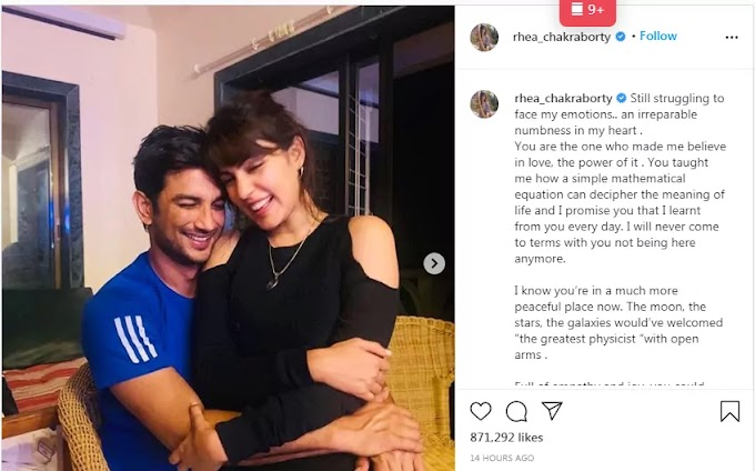 Rhea Chakraborty Exposed Everything About Sushant Singh Rajput on his One Month Death Anniversary