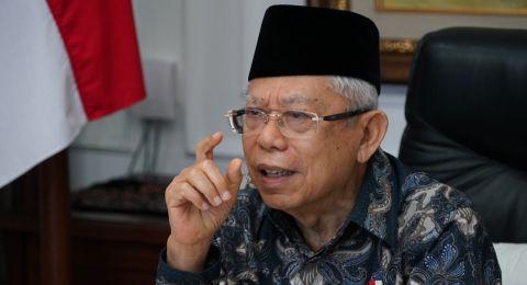 Ma'ruf Amin: Hukum Vaksinasi Corona Fardu Kifayah, Berdosa Jika Tak Laksanakan