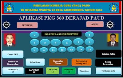 Aplikasi PKG 360 Derajad Lembaga PAUD Revisi Terbaru