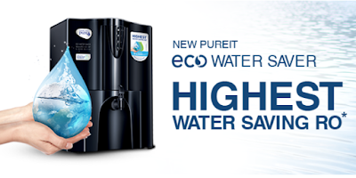 HUL Pureit Eco Water Purifier with Water Saver Mineral RO+UV+MF wall mounted/Counter top Options