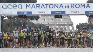XXIII Maratona di Roma - foto La Gazzetta dello Sport