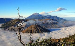 foto keindahan gunung bromo jawa timur
