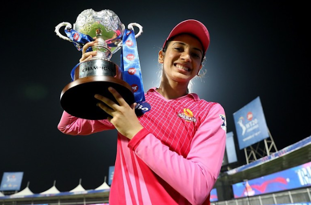 Smriti Mandhana ( Indian Cricketer) Wiki, Age,Height, Family, Career and Many More