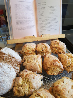 Stilton-Hazelnut-Scones