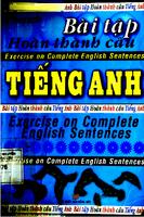 Bài Tập Hoàn Thành Câu Tiếng Anh - Thanh Huyền