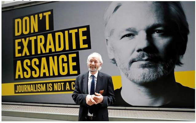 Julian Assange's father is asking New Zealand to give asylum to his son.
