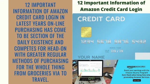 12 Important Information of Amazon Credit Card Login