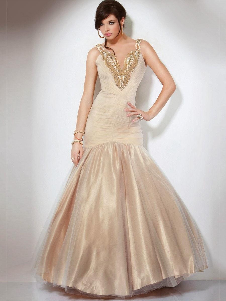 Largos vestidos de fiesta | Una hermosa opcion | Vestidos