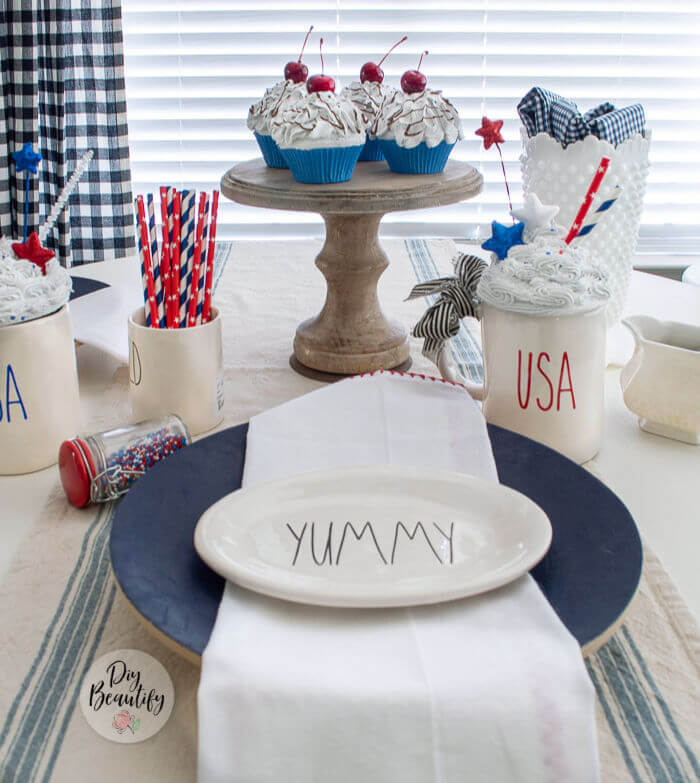 decorate for July 4th