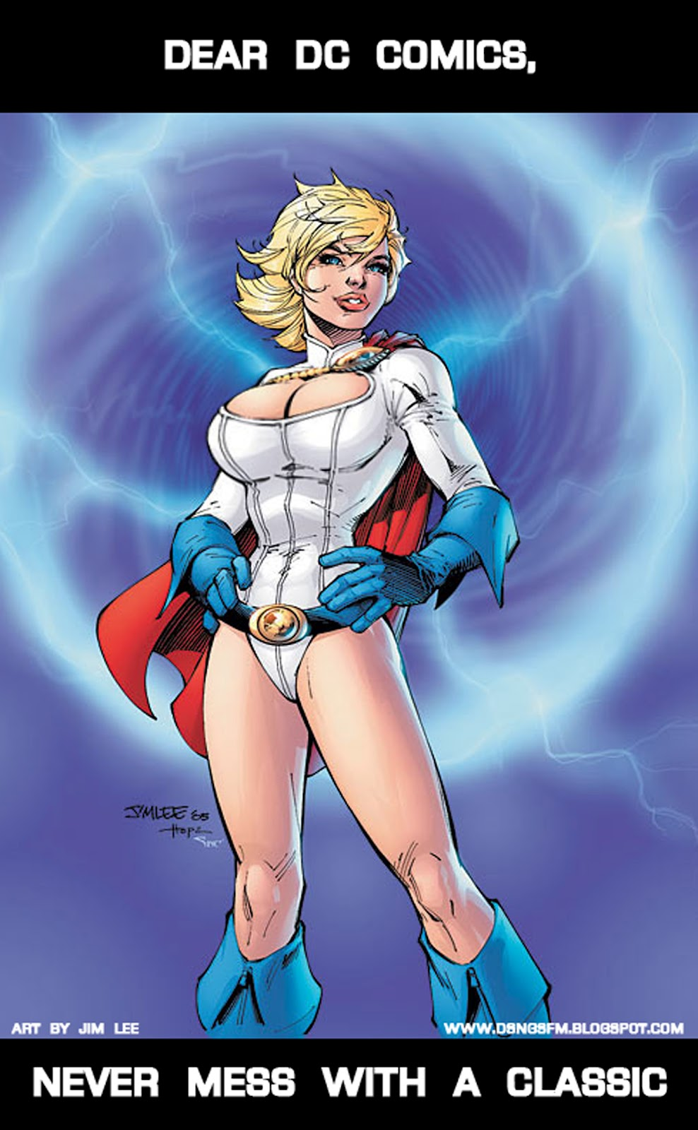 Power girl boobs nude