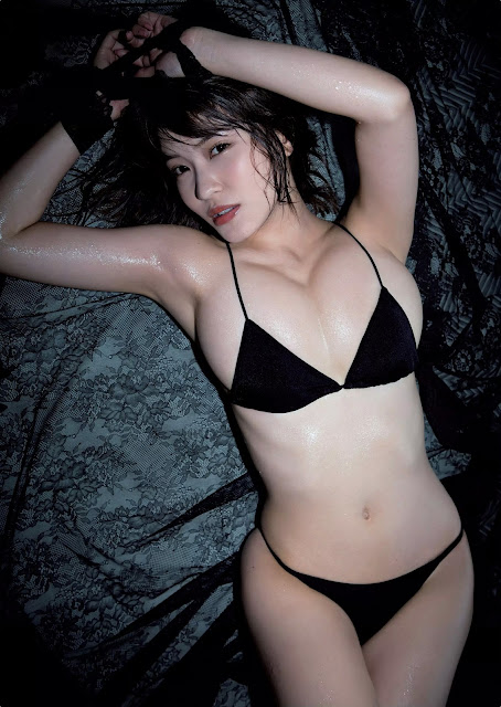 Kishi Asuka 岸明日香 Weekly Playboy 週刊プレイボーイ Aug 2015 Photos 5