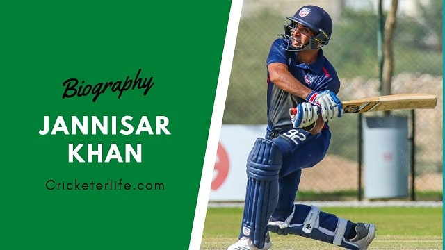 Jannisar Khan cricketer Profile, age, height, stats, wife, etc.