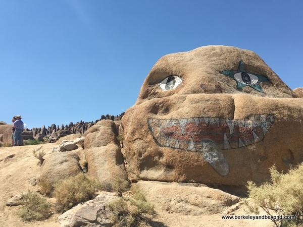 Skull Rock at Alabama Hills in Lone Pine, California