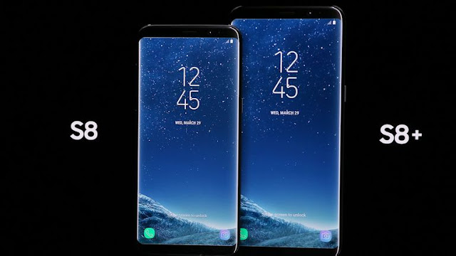 galaxy s8 and galaxy s8+
