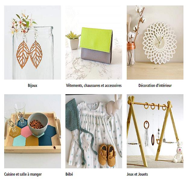 HANDMADE / PRODUITS & CADEAUX ARTISANAUX : Amazon.fr - Achat en ligne dans un vaste choix sur la boutique Produits Handmade.