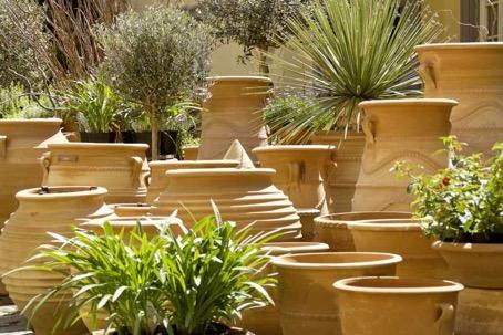 Palatina Keramik, Amphoren, Keramik frostsicher