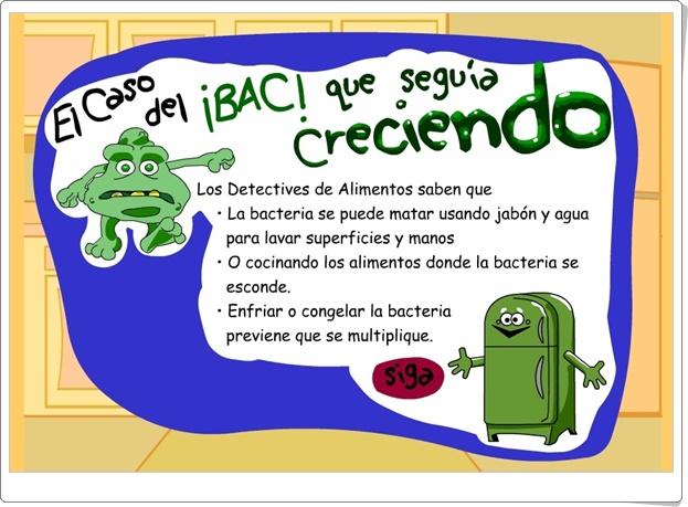 """Food detectives: """"El caso de la bacteria que seguía creciendo"""" (Juego de Ciencias Naturales de Primaria)"""