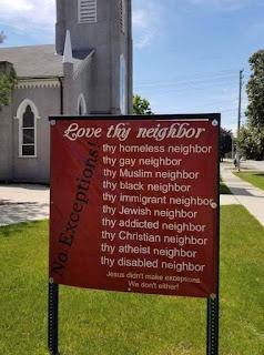Love Thy Neighbor meme ~ Nancy #AtoZchallenge #ShortStory #AdForRoomatesStory #Paranormal #UrbanFantasy