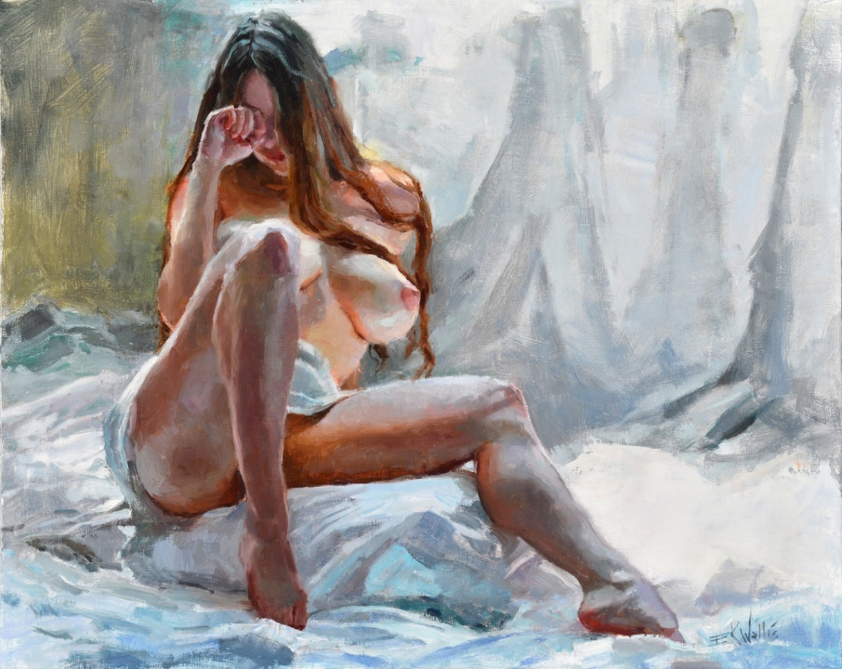 Hot Sale Classic Portrait Nude Women Oil Painting On Canvas By Vecellio