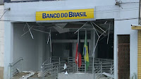 Agência bancária é explodida, em Remígio