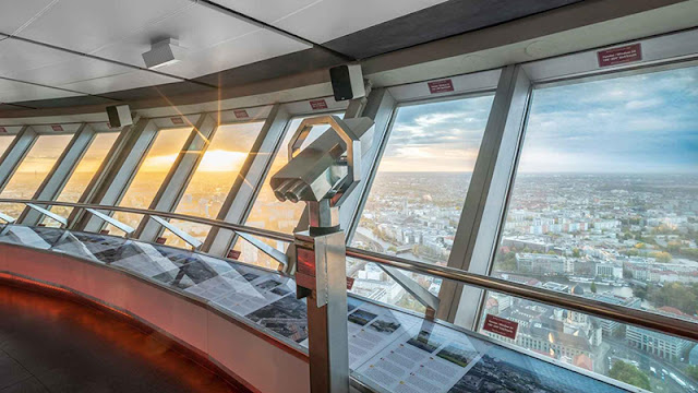 Observatório da Torre de TV em Berlim