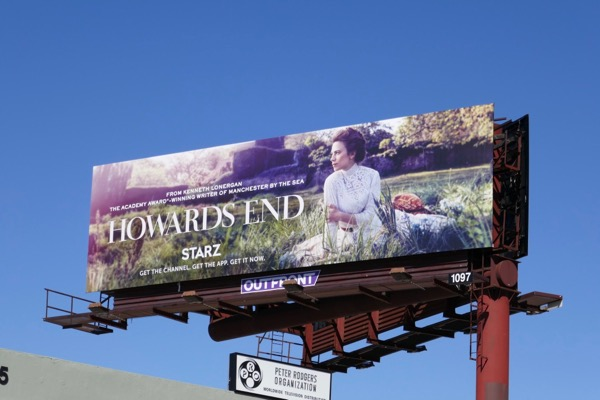 Howards End series premiere billboard
