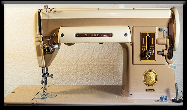 vintage 301 Singer sewing machine
