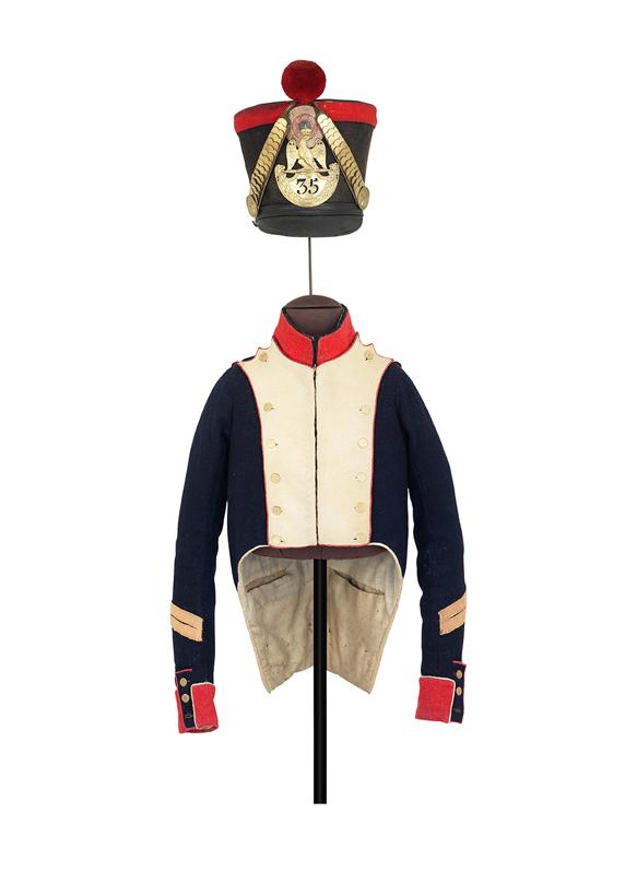 Playmobil 3544, uniforme infantería francesa - Waterloo  (Playmobil 3544 - redcoats)