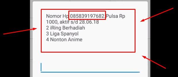 Cek Nomor Indosat Via Dial *123# Terbaru 2019 6