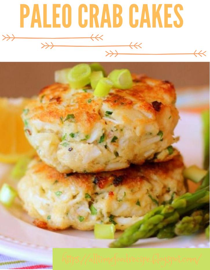Paleo Crab Cakes #diet #paleo