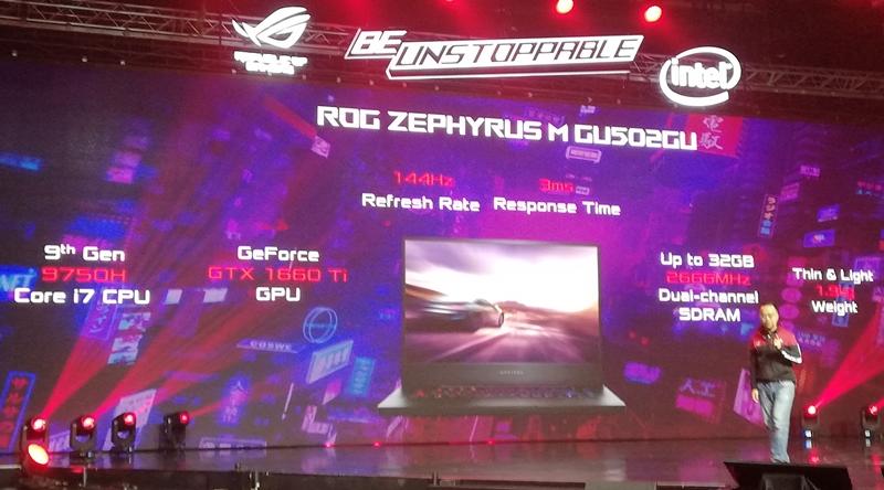 ASUS ROG Zephyris M GU502
