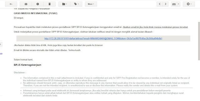 Petunjuk Penggunaan SIPP Online BPJS Ketenagakerjaan 11