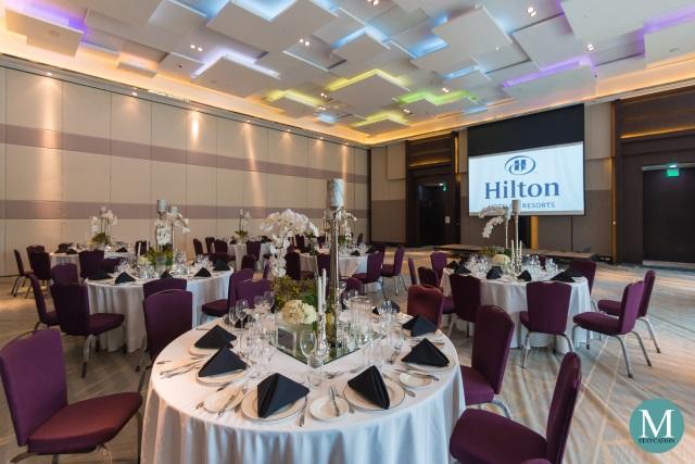 Hilton Ballroom at Hilton Manila