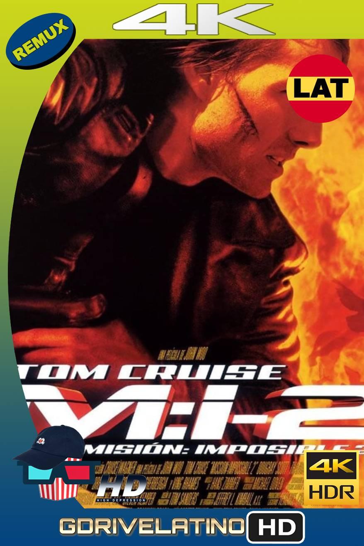 Misión imposible 2 (2000) BDREMUX HDR Latino-Castellano-Ingles MKV